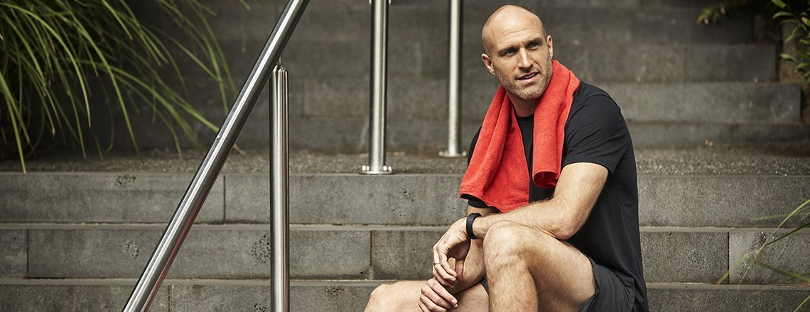 Chris Judd's 10 easy changes to move more