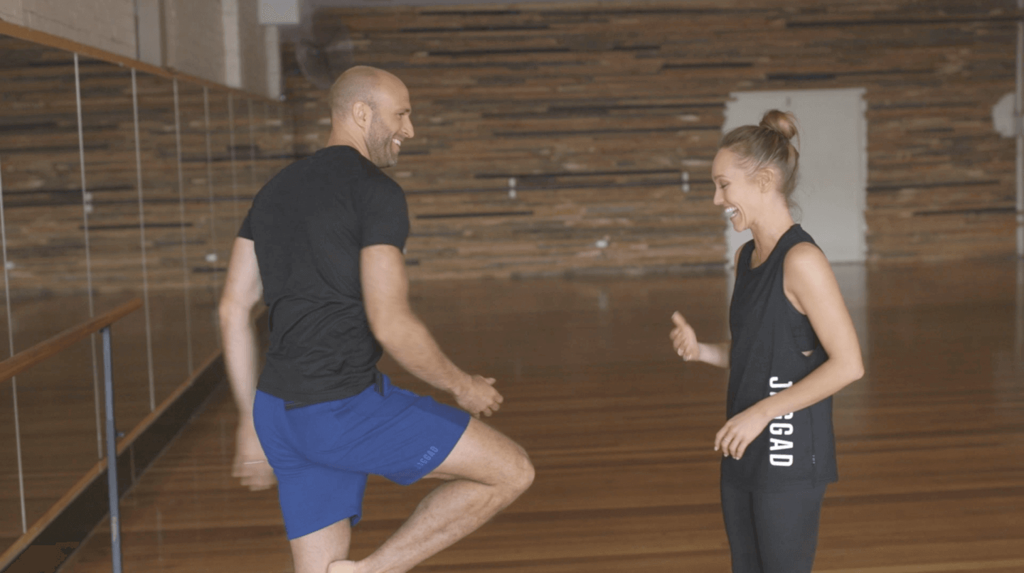 Chris Judd Starts Over: Becoming a ballerina