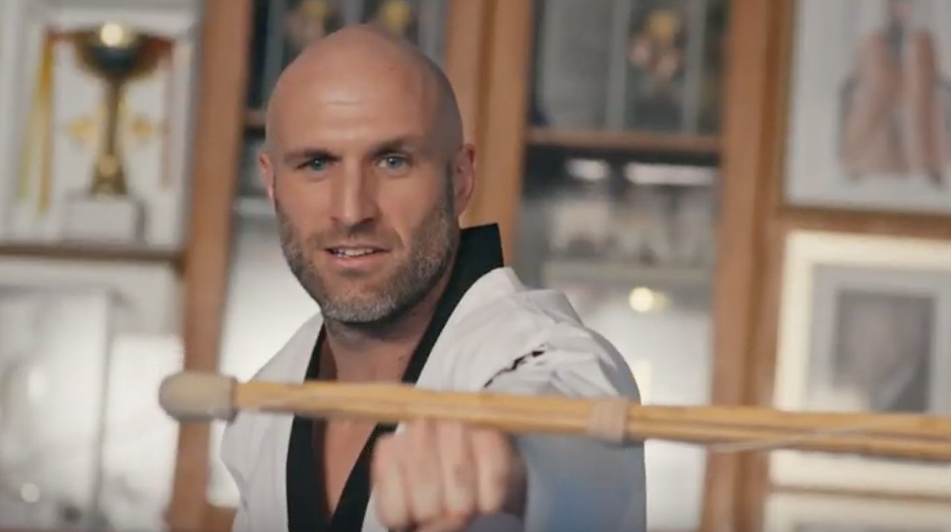 Chris Judd Starts Over: Taekwondo in Korea
