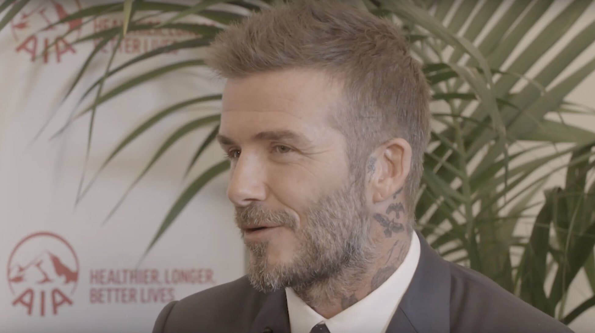 In conversation: David Beckham and Laura Henshaw