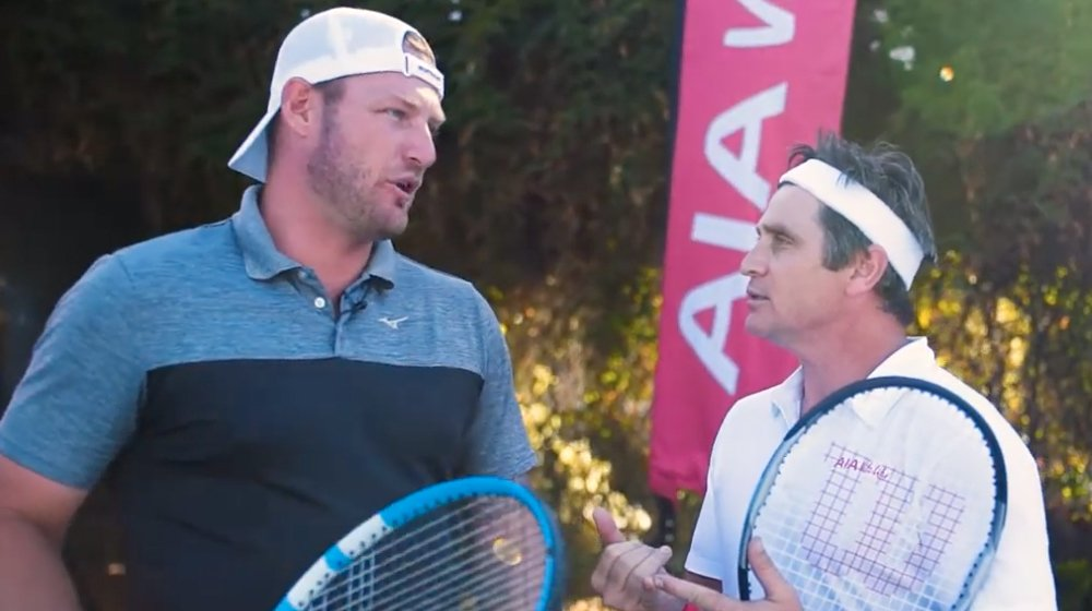 A Tennis Masterclass with Sam Groth
