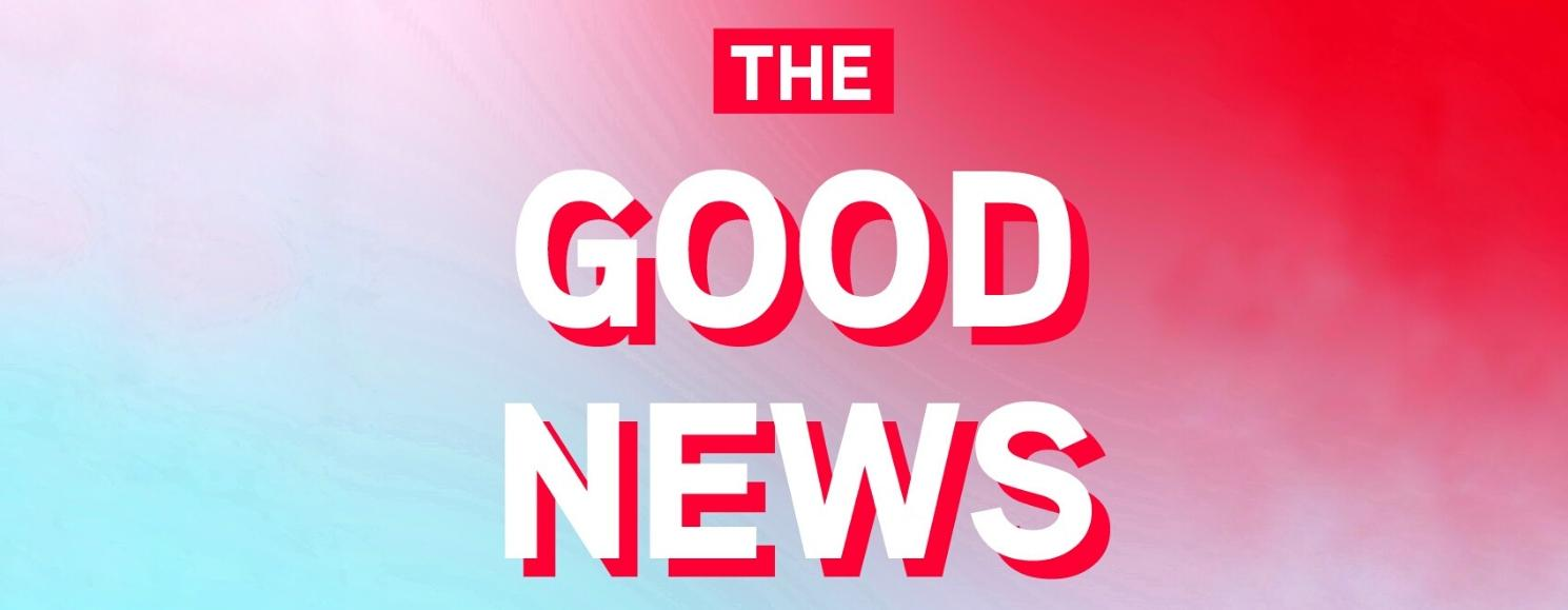 The Good News banner