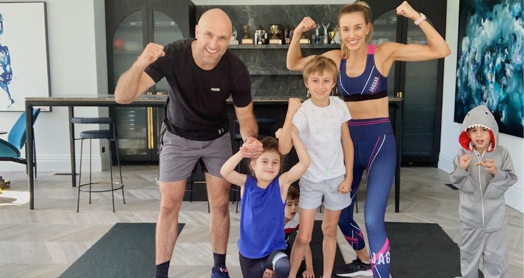 Judd family workout